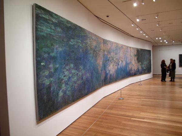 Gallery Crawl Monet S Water Lilies At The Museum Of