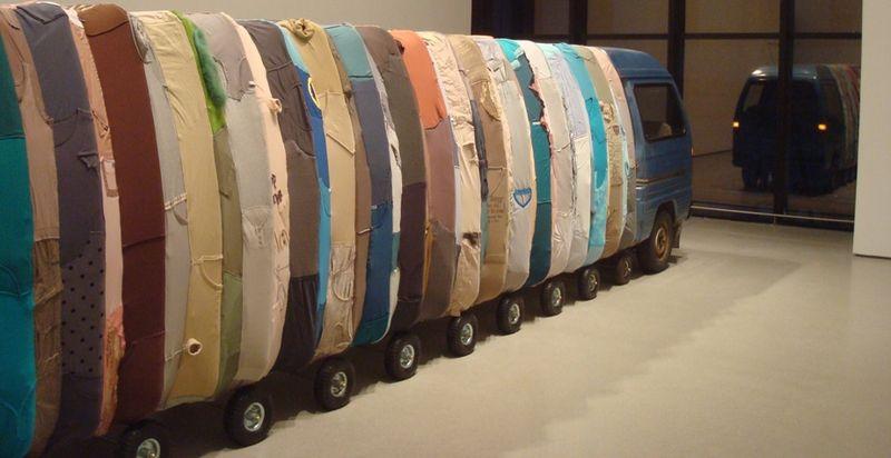 Yin Xiuzhen Collective Subconscious at MoMA 1
