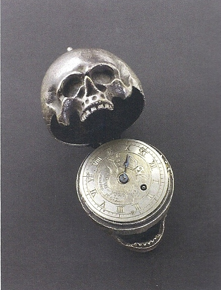 Skull Pocket Watch from Remember That You Will Die at the Rubin Museum of Art