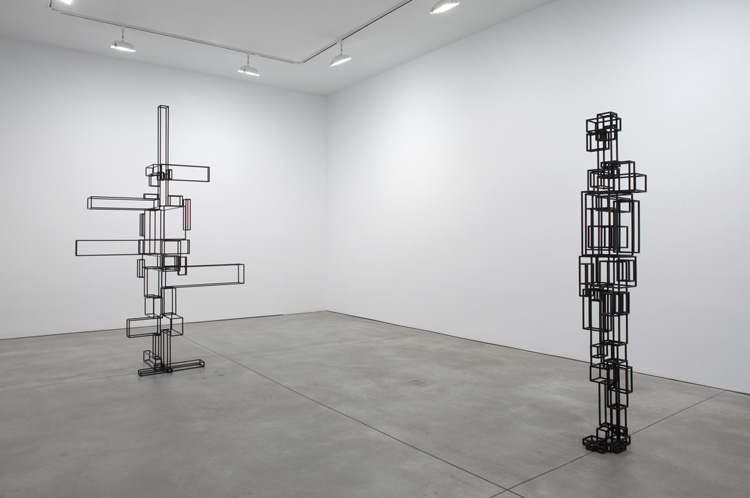 Anthony Gormley Breathing Room II at Sean Kelly Gallery II
