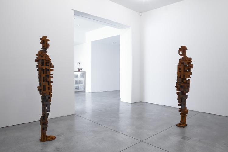 Anthony Gormley Breathing Room II at Sean Kelly Gallery I